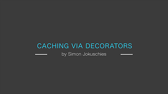 Caching via decorators in Python
